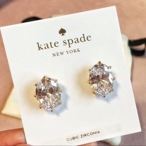 Kate Spade Large Diamond Earrings 💎